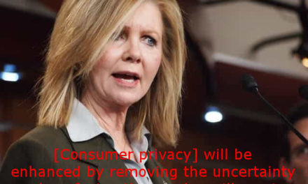 Consumer privacy GONE!